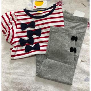 ムージョンジョン(mou jon jon)の半袖シャツ&7分丈ズボン(Tシャツ/カットソー)
