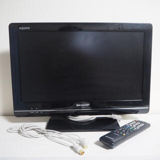 アクオス(AQUOS)のSHARP AQUOS LC-19K5 液晶テレビ 19インチ B-CAS付(テレビ)