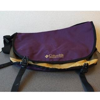 Columbia - コロンビア Columbia ショルダーバッグ 紫 パープル