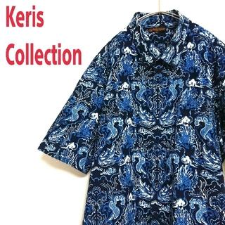 ART VINTAGE - Keris Collection VINTAGE アートデザイン 半袖 柄シャツ