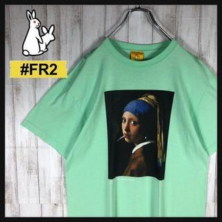 【即完売モデル】 FR2 絵画柄 フェルメール 入手困難 Tシャツ 希少