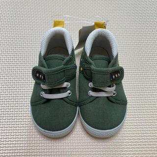 ニシマツヤ(西松屋)の子供靴 マジックテープ 15㎝ 新品 未使用(スニーカー)