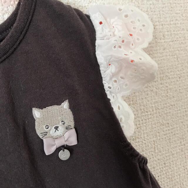 petit main(プティマイン)のpetit mainのトップス キッズ/ベビー/マタニティのキッズ服女の子用(90cm~)(Tシャツ/カットソー)の商品写真