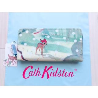 Cath Kidston - 【新品未使用】 キャスキッドソン ディズニー コンチネンタル バンビシーン