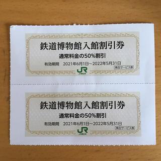 JR東日本 株主優待 鉄道博物館入館割引券2枚(その他)