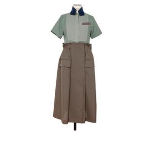sacai - 新品 sacai   suiting dress サイズ1