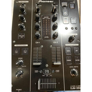 パイオニア(Pioneer)のpioneer djミキサー DJM-350 2013年製(DJミキサー)