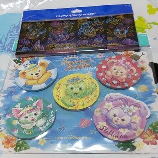Disney - ディズニー 花火柄メモ サニーファン メモセット