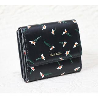 ポールスミス(Paul Smith)の新品 箱付き【ポールスミス 】本革 折り財布 ミニ財布 黒 プレゼントにも最適(財布)