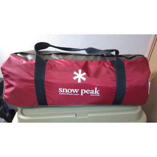 Snow Peak - 【snowpeak】ヘキサイーズ1+グランドシートセット+おまけソリステ20cm