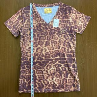 ドレスキャンプ(DRESSCAMP)のドレスキャンプ レオパード柄カットソー サイズS タグ付き新品(Tシャツ/カットソー(半袖/袖なし))