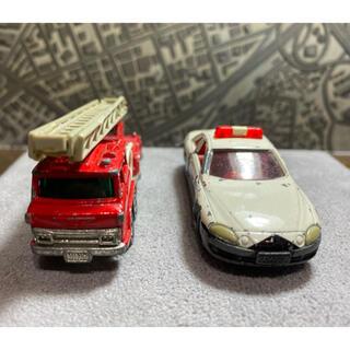 トミー(TOMMY)の日本製トミカ 緊急車両セット(ミニカー)