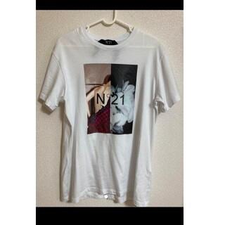 ヌメロヴェントゥーノ(N°21)の【N°21】デザインTシャツ/メンズS(Tシャツ(半袖/袖なし))