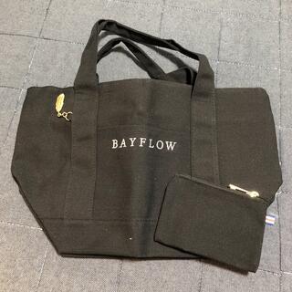 BAYFLOW - ベイフロー トートバッグ