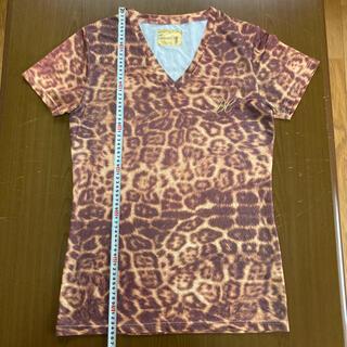 ドレスキャンプ(DRESSCAMP)のドレスキャンプ レオパード柄カットソー サイズM(Tシャツ/カットソー(半袖/袖なし))