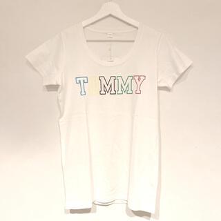 トミー(TOMMY)の人気の白シャツ!【 TOMMY 】新品(Tシャツ(半袖/袖なし))