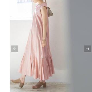 ノーブル(Noble)の【新品タグ付】《追加2》【MARIHA】夏の月影のドレス ピンク サイズ36(ロングワンピース/マキシワンピース)