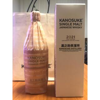 シングルモルト嘉之助2021 FIRST EDITION KANOSUKE