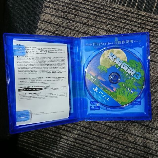 聖剣伝説3 トライアルズ オブ マナ PS4 エンタメ/ホビーのゲームソフト/ゲーム機本体(家庭用ゲームソフト)の商品写真