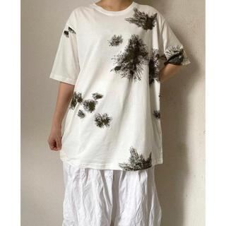 TOGA - 新品 ドイツ軍 スノーカモフラージュタイプ 白 ホワイト プリント Tシャツ