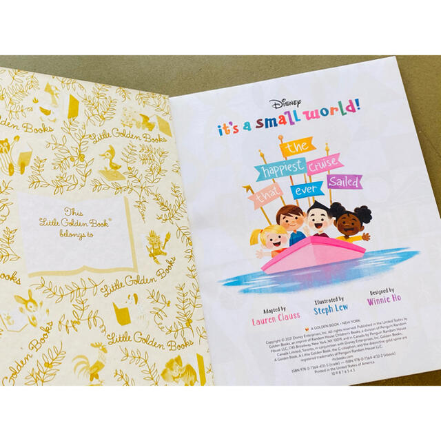 Disney(ディズニー)のディズニー英語絵本 キッズ洋書 It's a Small World エンタメ/ホビーの本(絵本/児童書)の商品写真