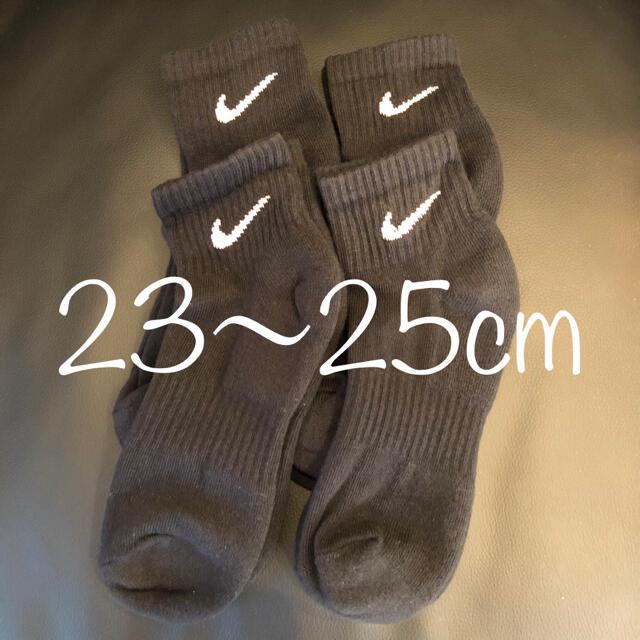 NIKE(ナイキ)の23〜25cm  4足 クウォーターソックス ナイキ エブリデイ クッション レディースのレッグウェア(ソックス)の商品写真