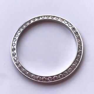 ロレックス(ROLEX)の腕時計 時計修理交換用 ロレックス  対応 メンズ ダイヤモンドベゼル 社外品(その他)