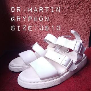 ドクターマーチン(Dr.Martens)のドクターマーチン サンダル グリフォン 28.0 ホワイト 白(サンダル)