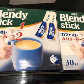エイージーエフ(AGF)のBlendystick カフェオレ カロリーハーフ1/2 60本(コーヒー)