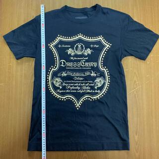 ドレスキャンプ(DRESSCAMP)のドレスキャンプ スタッズ装飾カットソー サイズ46 美品(Tシャツ/カットソー(半袖/袖なし))