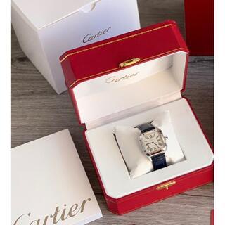Cartier - 【極美品】カルティエ サントスCartier 腕時計