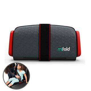 新品未使用 mifold ジュニアシート スレートグレー(自動車用チャイルドシート本体)