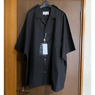 Maison Martin Margiela - 39新品 メゾン マルジェラ アウトライン オーバーサイズ 半袖 シャツ メンズ