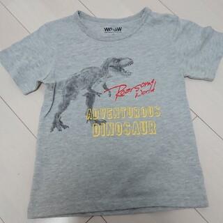 グローバルワーク(GLOBAL WORK)のグローバルワーク 半袖 キッズ 120 130 男の子 恐竜(Tシャツ/カットソー)