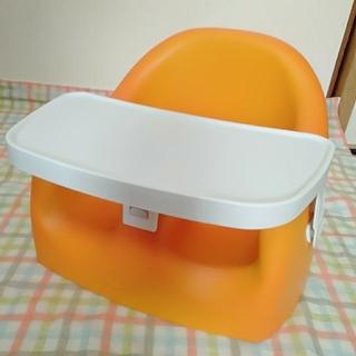 カリブ オレンジ テーブル付き