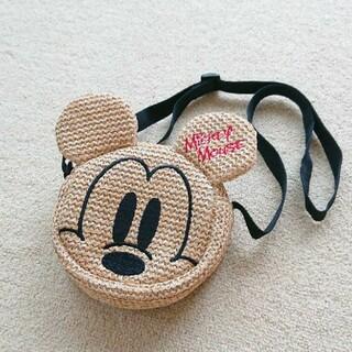 ディズニー(Disney)の未使用★ミッキー かごバッグ ショルダー(その他)