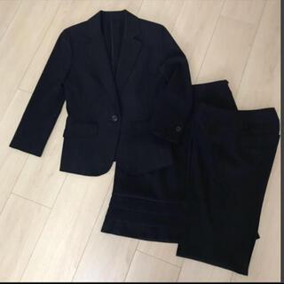ヴァンドゥーオクトーブル(22 OCTOBRE)の美品 22OCTOBRE  ブラック レディース スーツ 3点セット(スーツ)