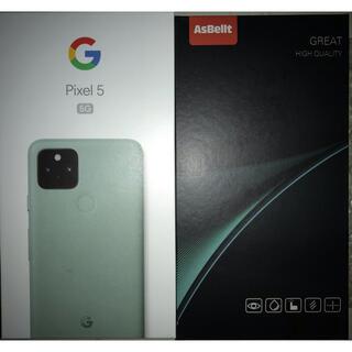 Google Pixel5 simフリー Sorta Sage 128GB