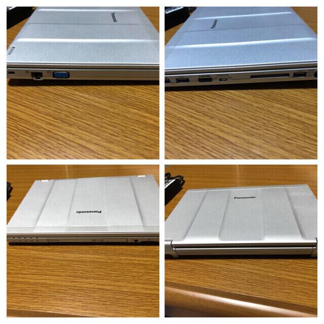 Panasonic(パナソニック)のLet's note SZ5 SSD256 メモリ8G MSoffice2019 スマホ/家電/カメラのPC/タブレット(ノートPC)の商品写真