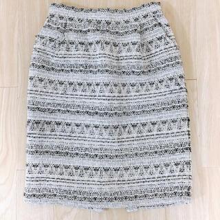 フリーズマート(FREE'S MART)のフリーズマート 刺繍 膝丈スカート(ひざ丈スカート)