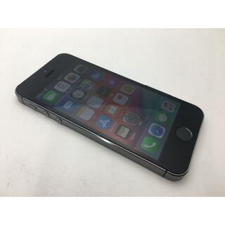 アップル(Apple)の569 au iPhone5s A1453 スペースグレイ 16GB◆美品◆ (スマートフォン本体)