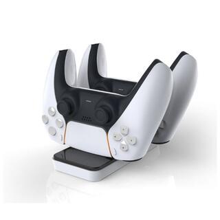 【新品】DOBE PS5コントローラー充電スタンド/指示ランプ/2台同時充電