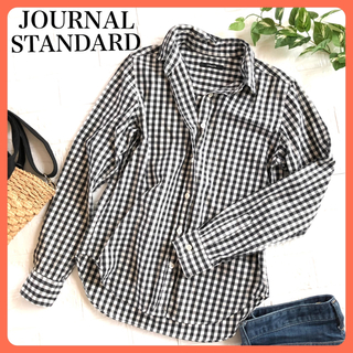 JOURNAL STANDARD - 【きれいめカジュアル⭐️】ジャーナルスタンダード ギンガムチェック長袖シャツ