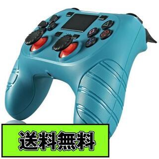 PS4 ワイヤレスコントローラー グリーン Green 緑色 USB付 互換品(その他)