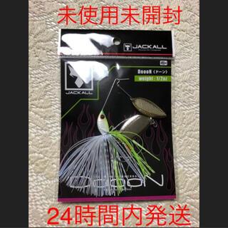 ジャッカル(JACKALL)のドーン チャートバックホワイト 1/2oz   新品未開封 ジャッカル(ルアー用品)