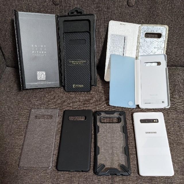 Galaxy(ギャラクシー)のGalaxy s10 plus 512ギガバイト セラミックホワイト シムフリー スマホ/家電/カメラのスマートフォン/携帯電話(スマートフォン本体)の商品写真