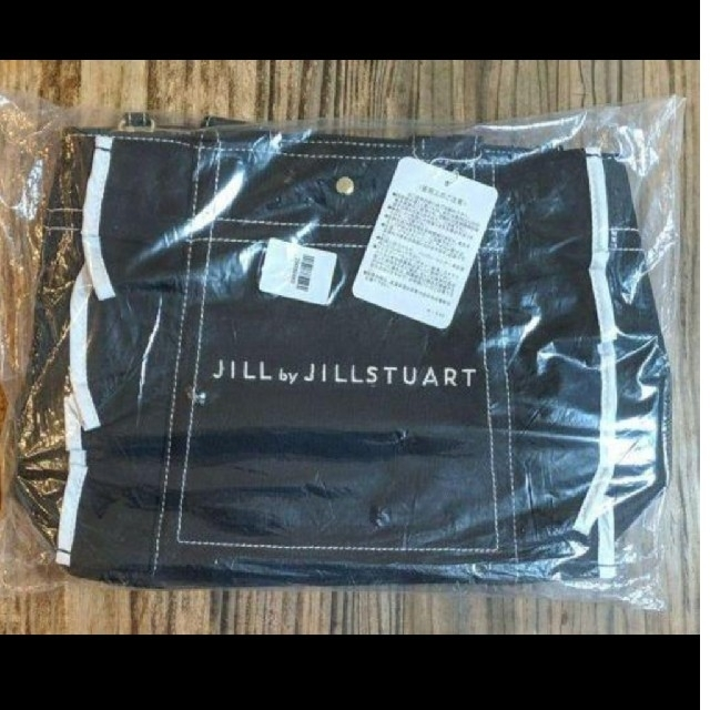JILL by JILLSTUART(ジルバイジルスチュアート)のジル・スチュアート フリル トートバッグ ショルダーバッグ ブラック (大) レディースのバッグ(トートバッグ)の商品写真