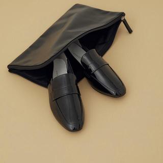 アダムエロぺ(Adam et Rope')のレインローファー(ポーチ付き)(ローファー/革靴)