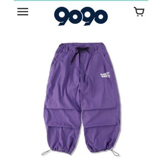 9090 カーゴパンツ紫  M コムドット