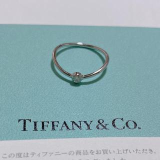 ティファニー(Tiffany & Co.)のティファニー・エルサペレッティ ウェーブシングルロウ ダイヤモンドリング(リング(指輪))